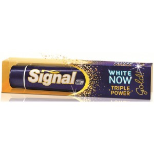 Signal White Now Triple Power Gold