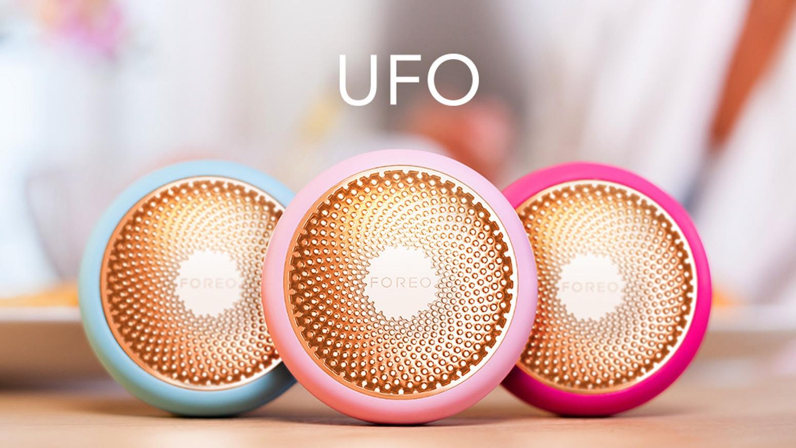 Test de Foreo UFO, le compagnon masqué